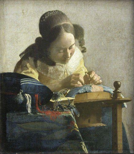 Le tableau du samedi: Vermeer 12 tableaux au Louvre