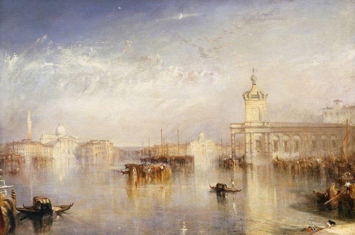Venise, William Turner. Le tableau du Samedi chez Lady Marianne