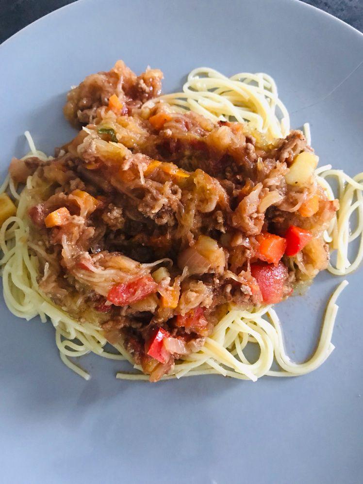 Bolo à la courge spaghetti pour petits (dès 12 mois) et grands