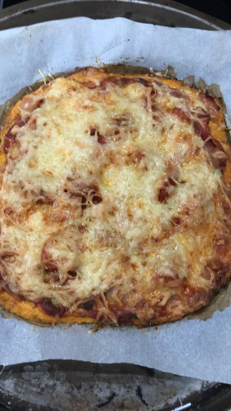 Pizza à la carotte