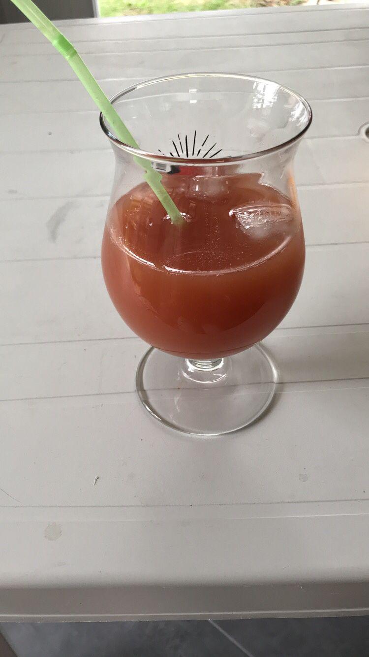 Cocktail rapide Rhum/Goyave