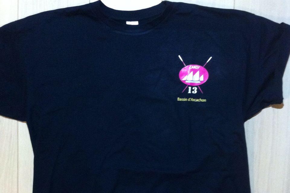 Tee-shirt marine &quot&#x3B;équipage&quot&#x3B; 15€