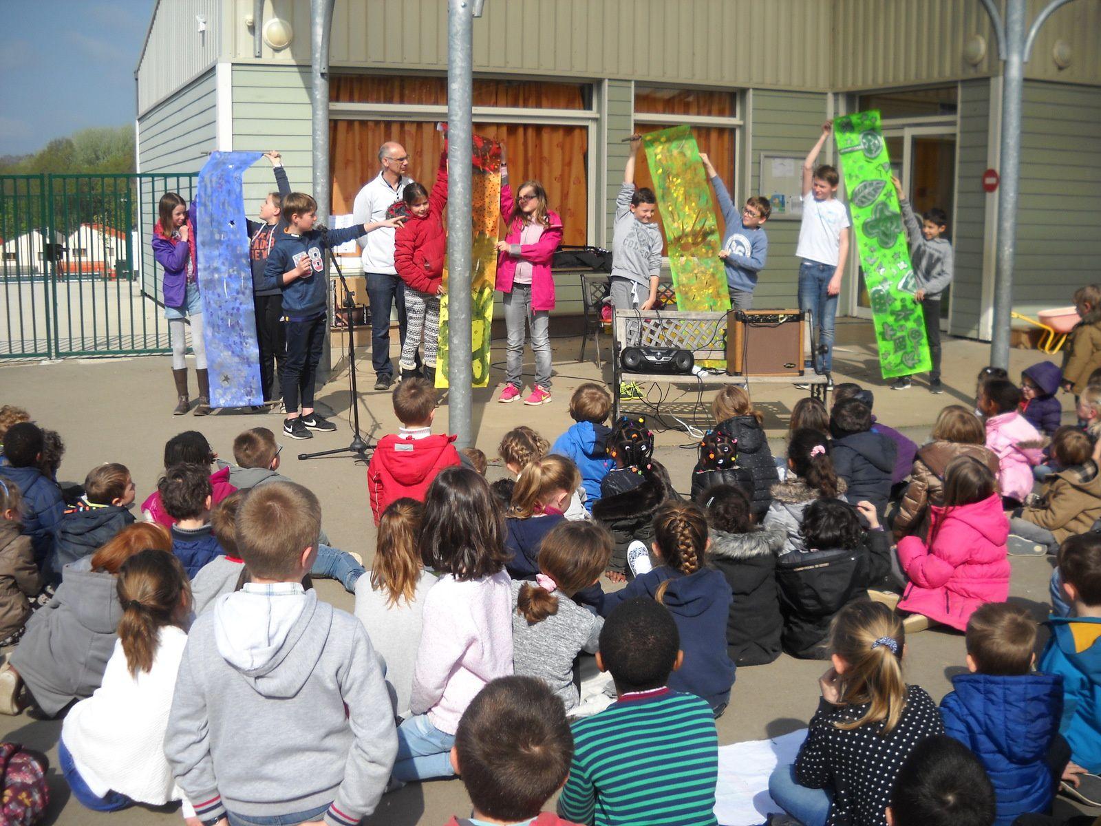 L'école du Sacré-Coeur fête le printemps !