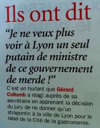 Lyon : le strapontin de la gastronomie française