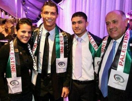 Cristiano Ronaldo, soutien de la cause palestinienne ?