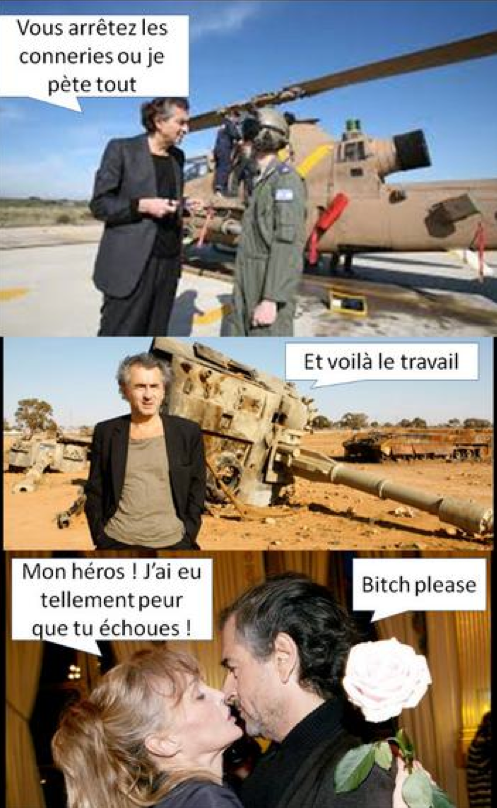 Bernard-Henri Lévy sauve le monde