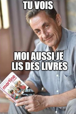 Les lectures favorites de Sarkozy