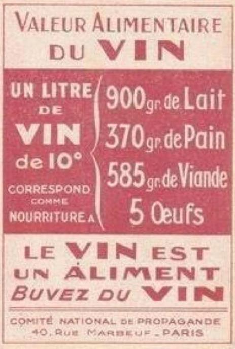 Pas de viande rouge, du vin !