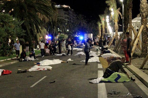 Carnage de Nice : un témoignage indirect