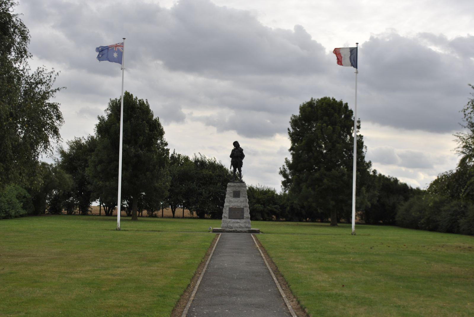 le mémorial Australien inauguré le 25 avril 1992
