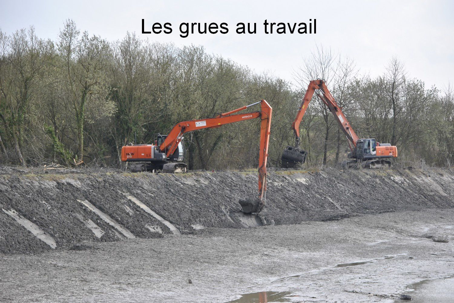 Travaux Canal du Nord