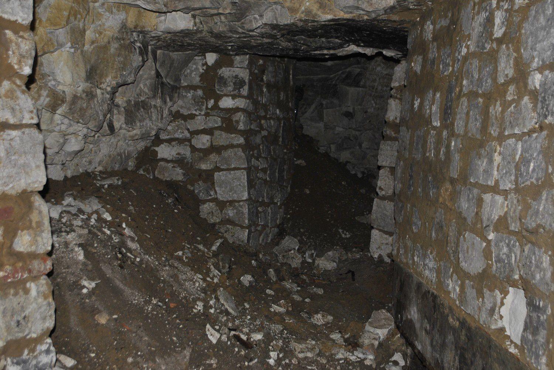 Visite de souterrain avec le GEVSNF le 21 juin 2014