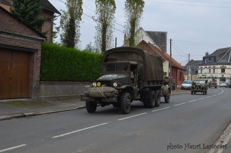 Passage de véhicules militaires le 4 septembre