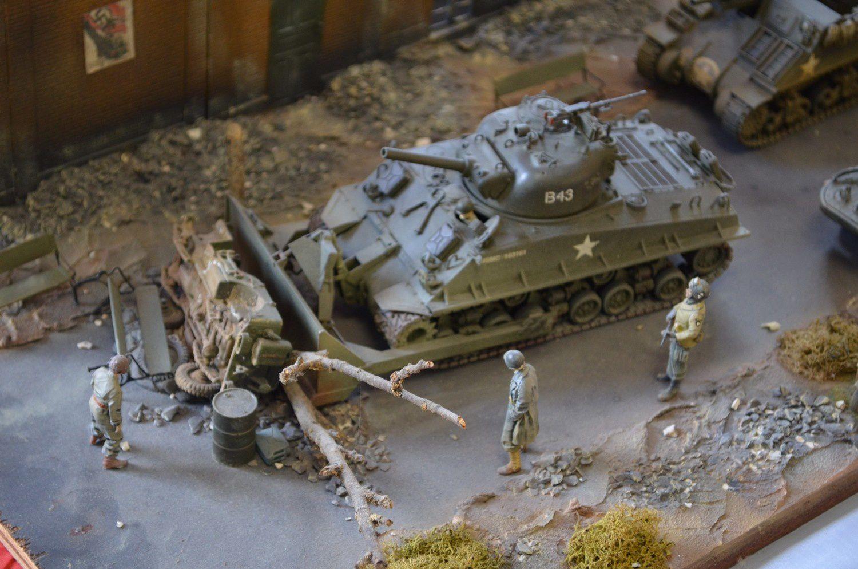 Exposition de maquettes et dioramas