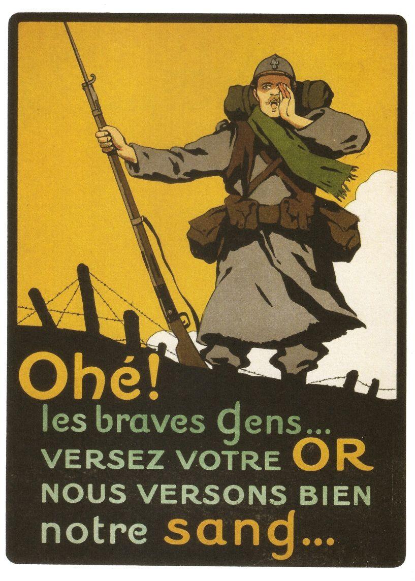 La publicité pendant la guerre 14-18