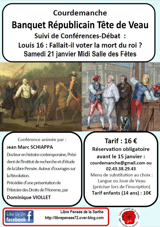 21 janvier à Courdemanche &#x3B; fallait il voter la mort du roi louis XVI ?