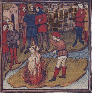 Le Bourreau au Moyen âge.
