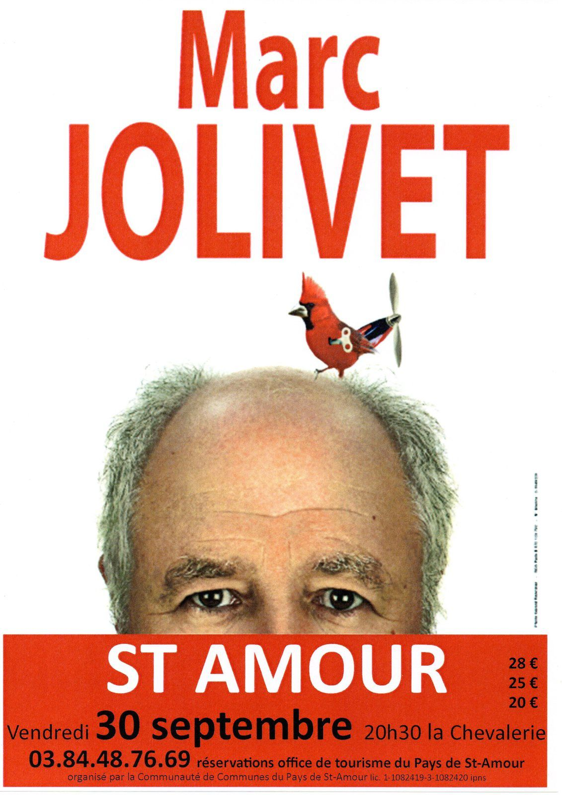 Marc JOLIVET à Saint-Amour