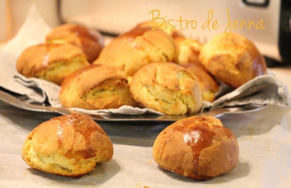 Petits pains au beurre-Buleczki maslano-drozdzowe