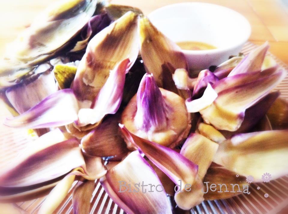 Vous savez pourquoi un plat d'artichauts est appeler un plat de pauvres ?... (la réponse est sur la photo!)