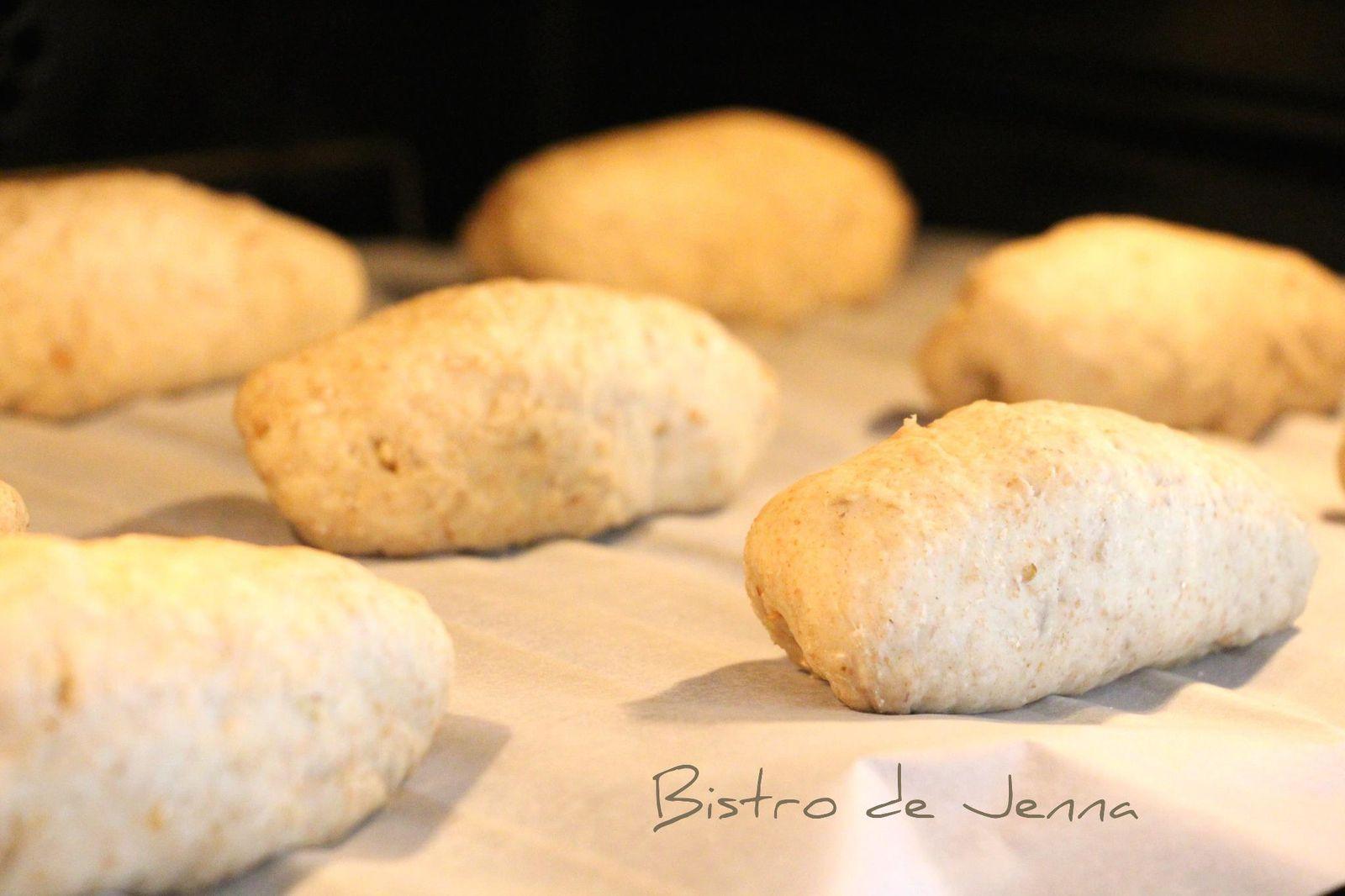 Des petits pain a l'ail - Buleczki czosnkowe