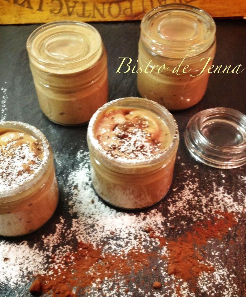 Mousse mascarpone au chocolat au lait et orange confite- Pianka z mascarpone, czekolady mlecznej i pomaranczy kandyzowanej