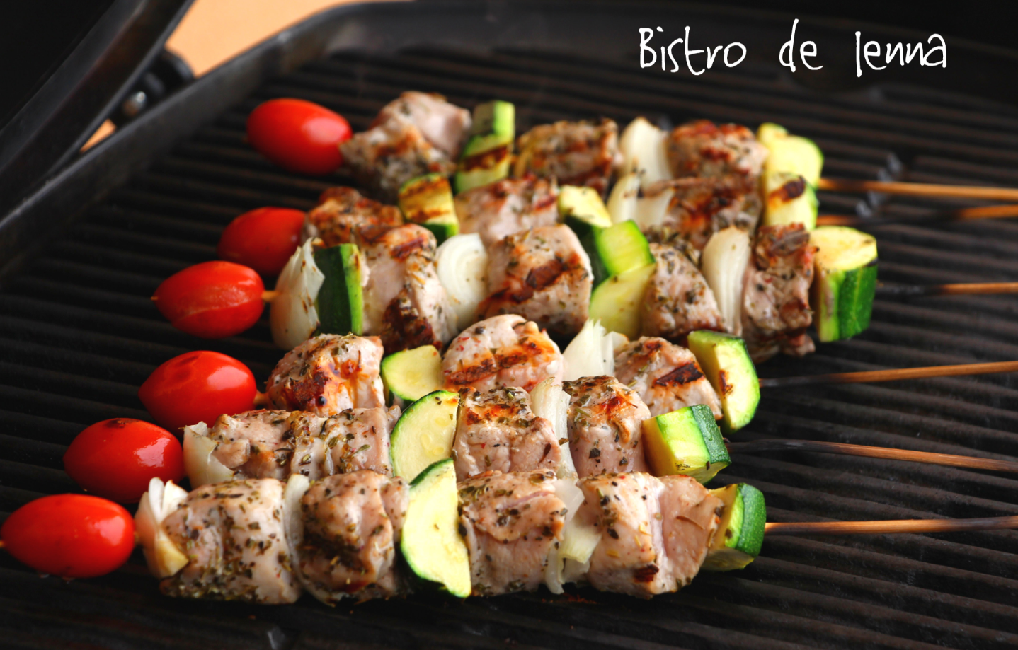 Brochettes aux herbes