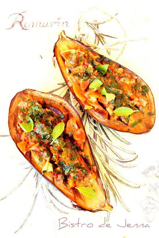 Les aubergines façon ma Provence