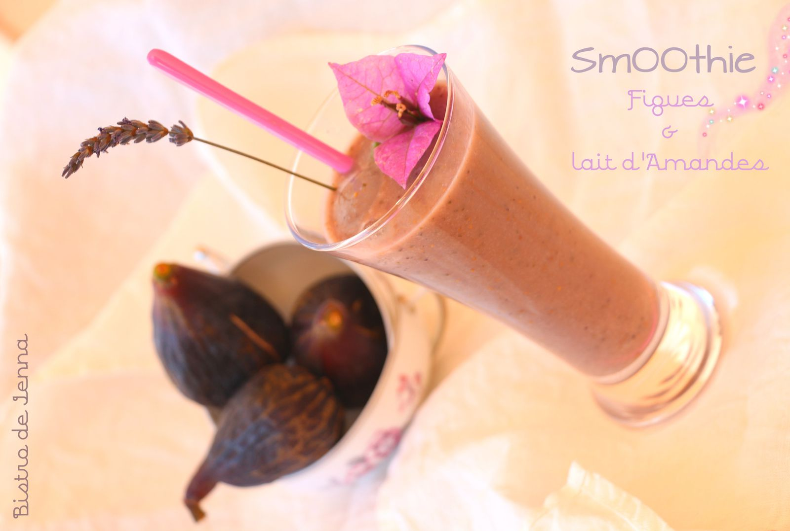 SmOOthie Figues &amp&#x3B; Lait d'Amande