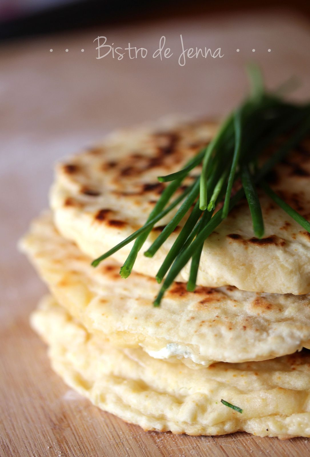 Naans au fromages