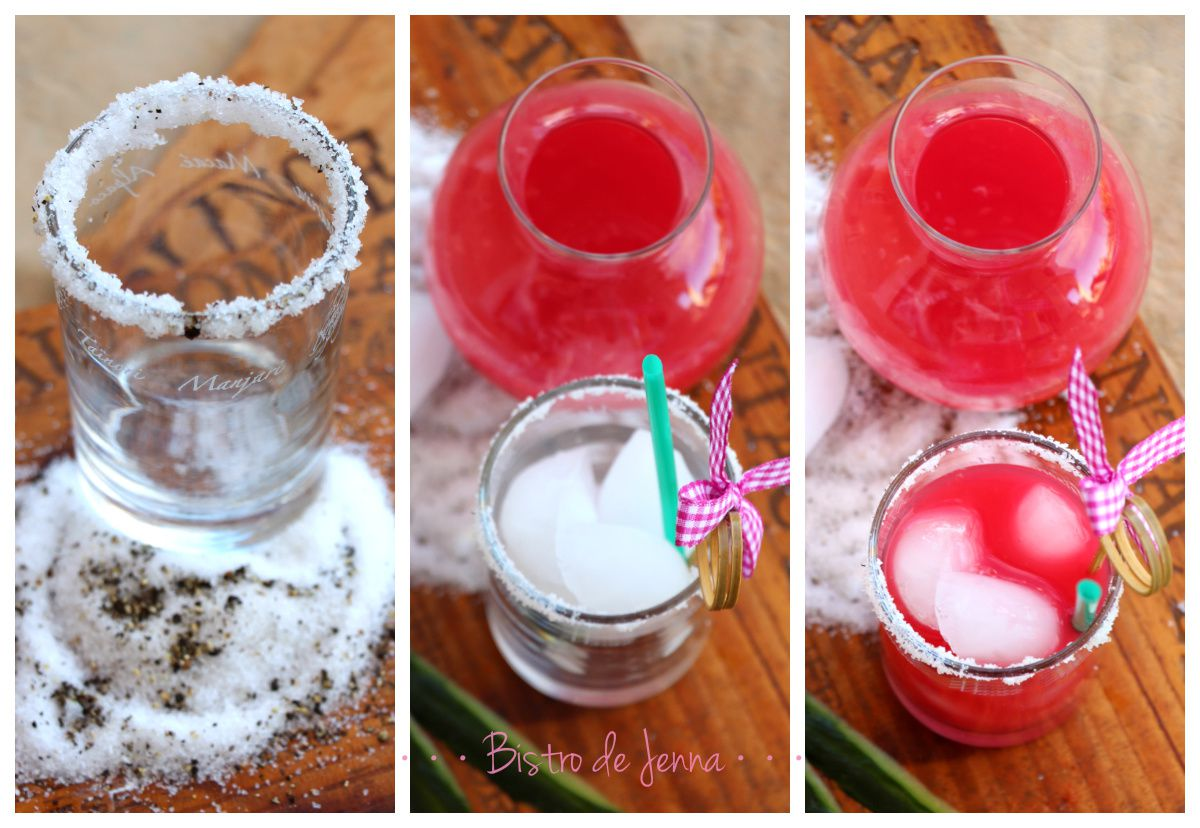 Sweet Drinks - Red-Pink Vodka