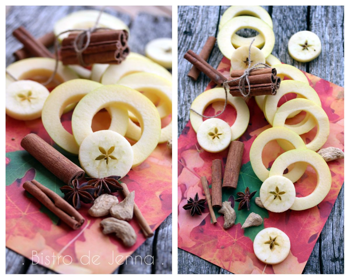 Apple Rings - rondelles de pommes à la cannelle