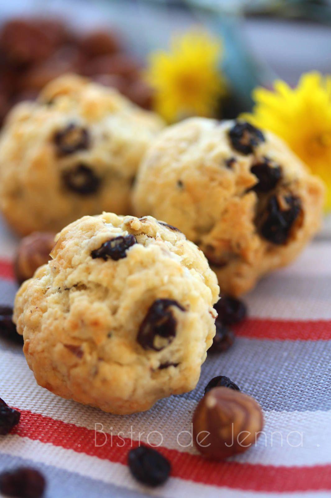 Cookies aux pépites de chocolat raisin de corinthe