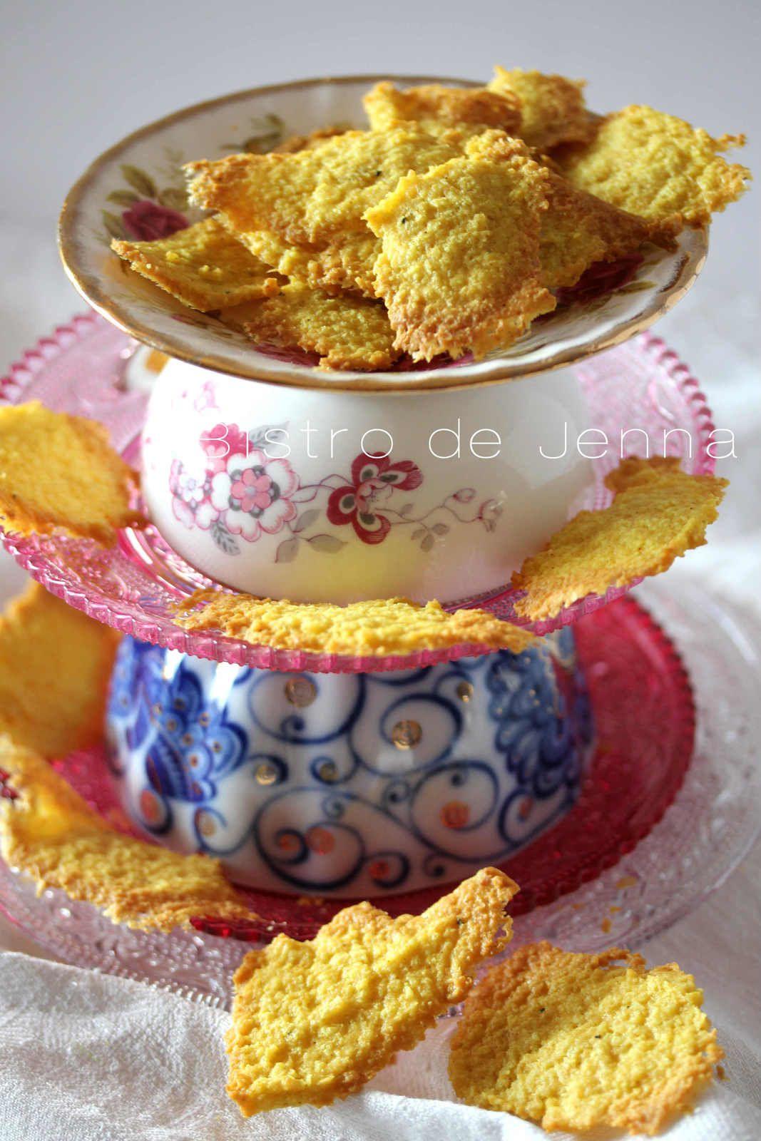 Langues de chat, curcuma et noix de coco