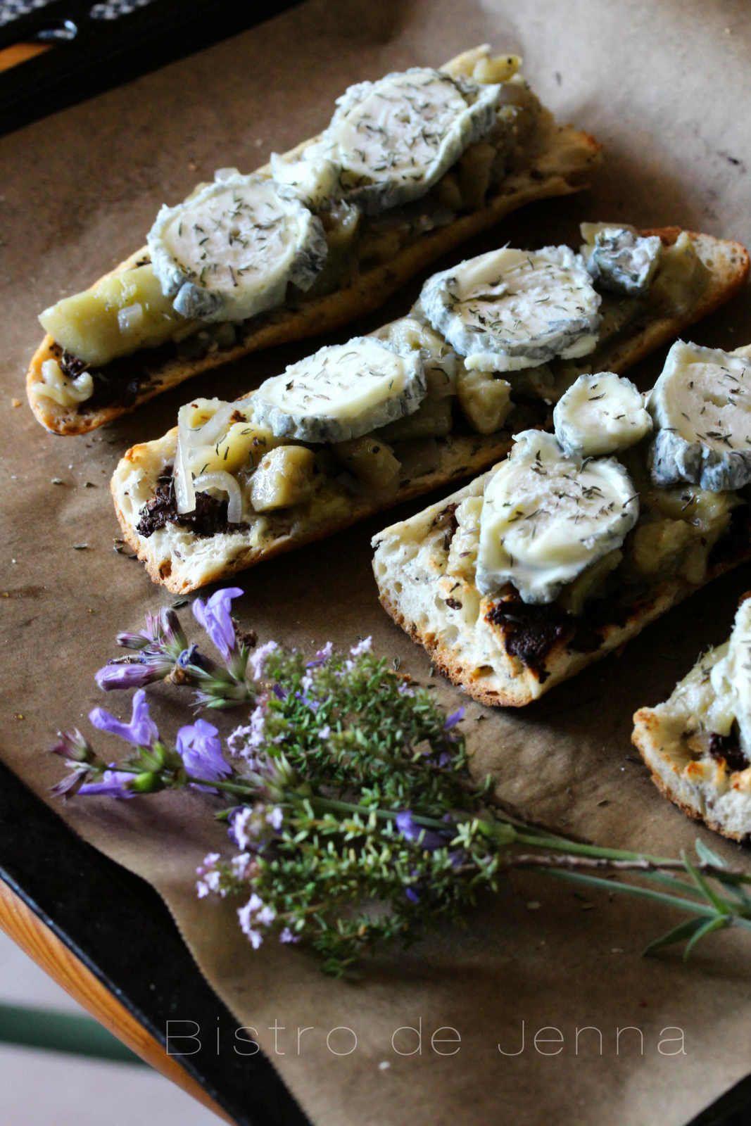 Tartines gratinées à la provençale