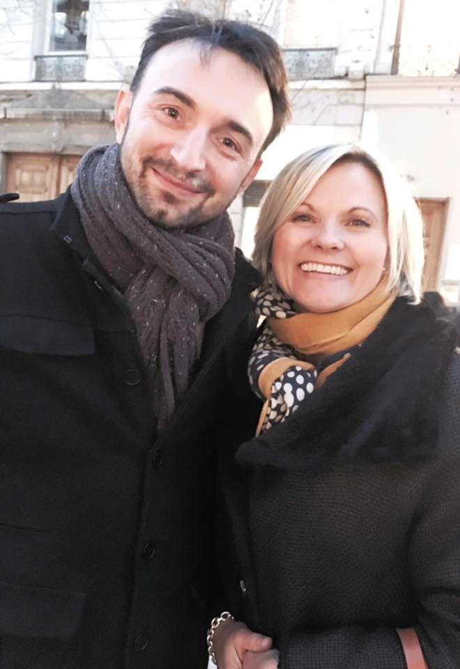 Avec Olivier Sharing Cuisine - je suis ravi de t'avoir croisée à Lyon ! Quelle rencontre inattendus !