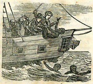 La déportation de Noirs