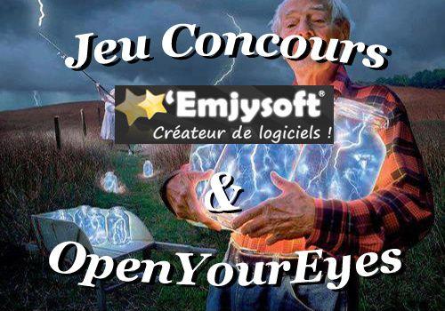 Résultat du Concours Emjysoft / OpenYourEyes
