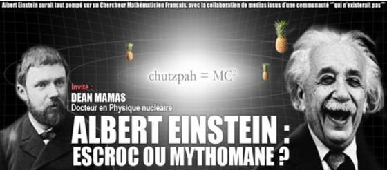 Controverse sur la paternité de la relativité : Einstein ou Poincaré ? (ITW) [VF]