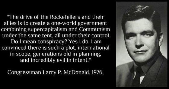 Larry McDonald meurt 3 mois aprés avoir évoqué le N.O.M. [VOSTFR]