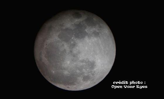Eclipse lunaire pénombrale cette nuit, 18 octobre 2013