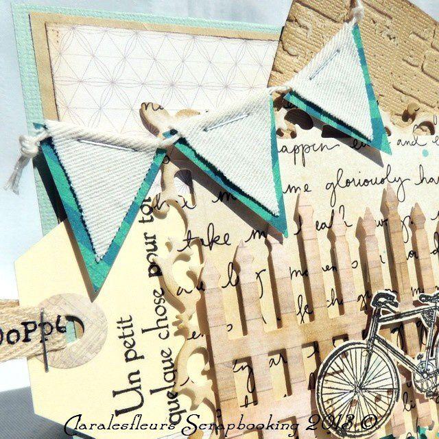 Deux versions de cartes pour un sketch avec le kit Maggie Holmes de Crate Papers...