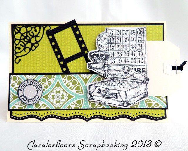 DT Art du Scrapbooking... mes cartes avec le kit Modern Romance