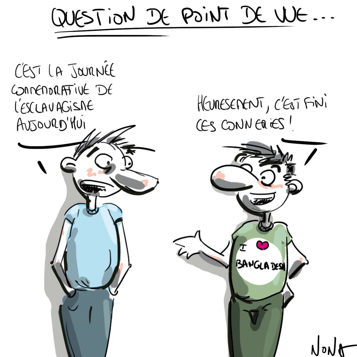 question de point de vue