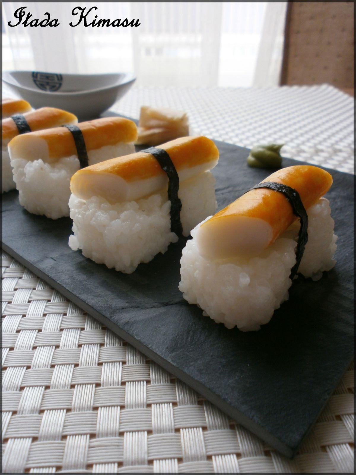 Sushis surimi