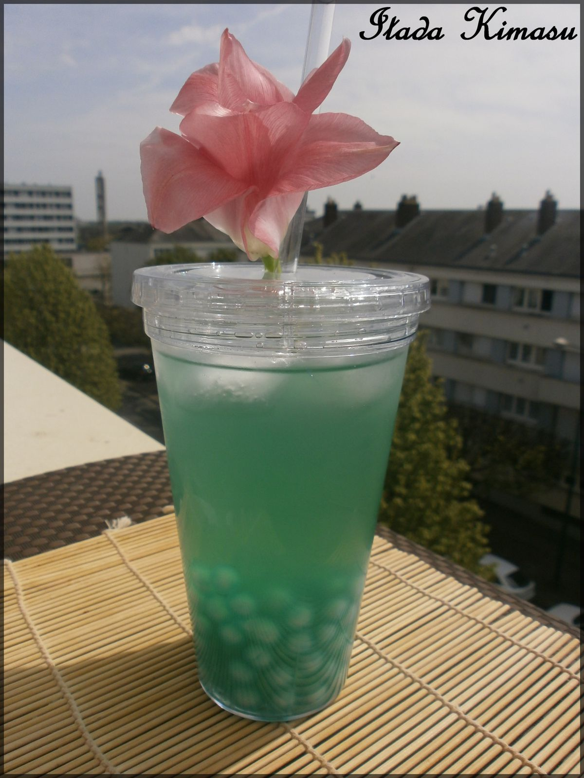 Bubble tea au sirop