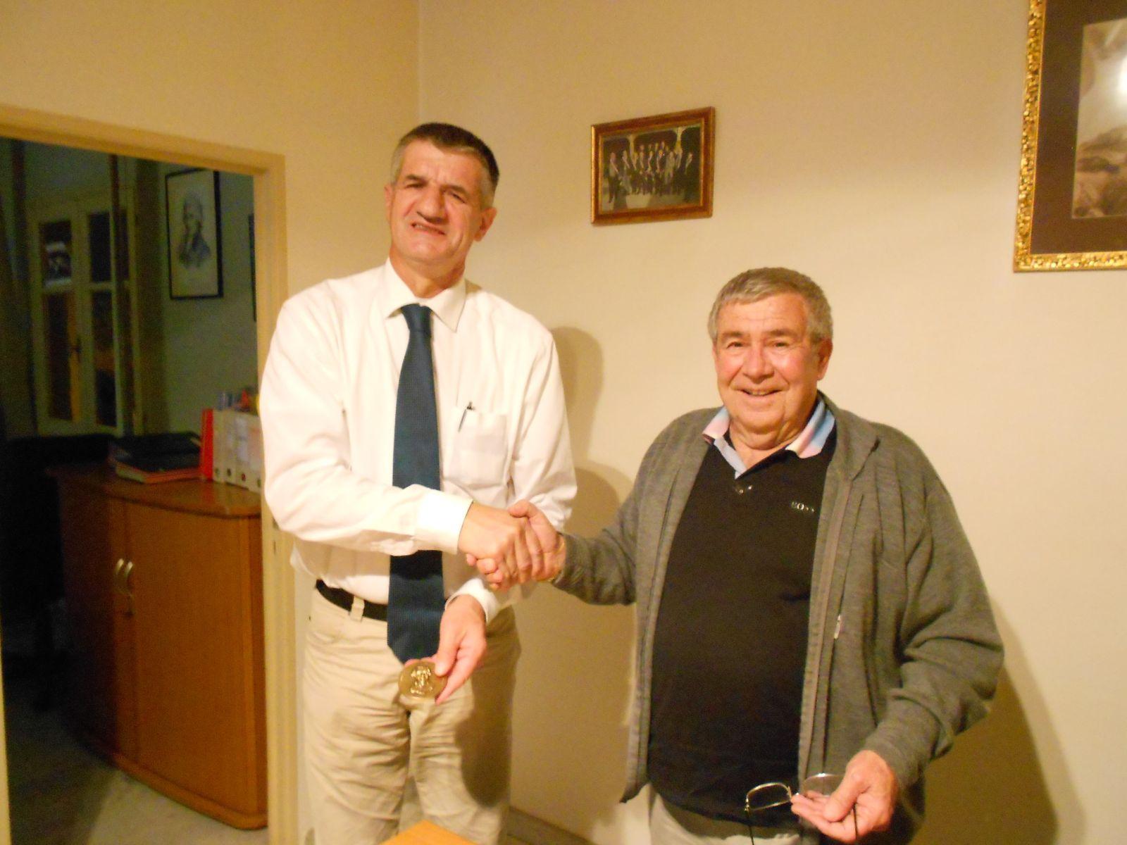 rencontre avec M le Maire de Ponte Leccia, Vincent Cognetti