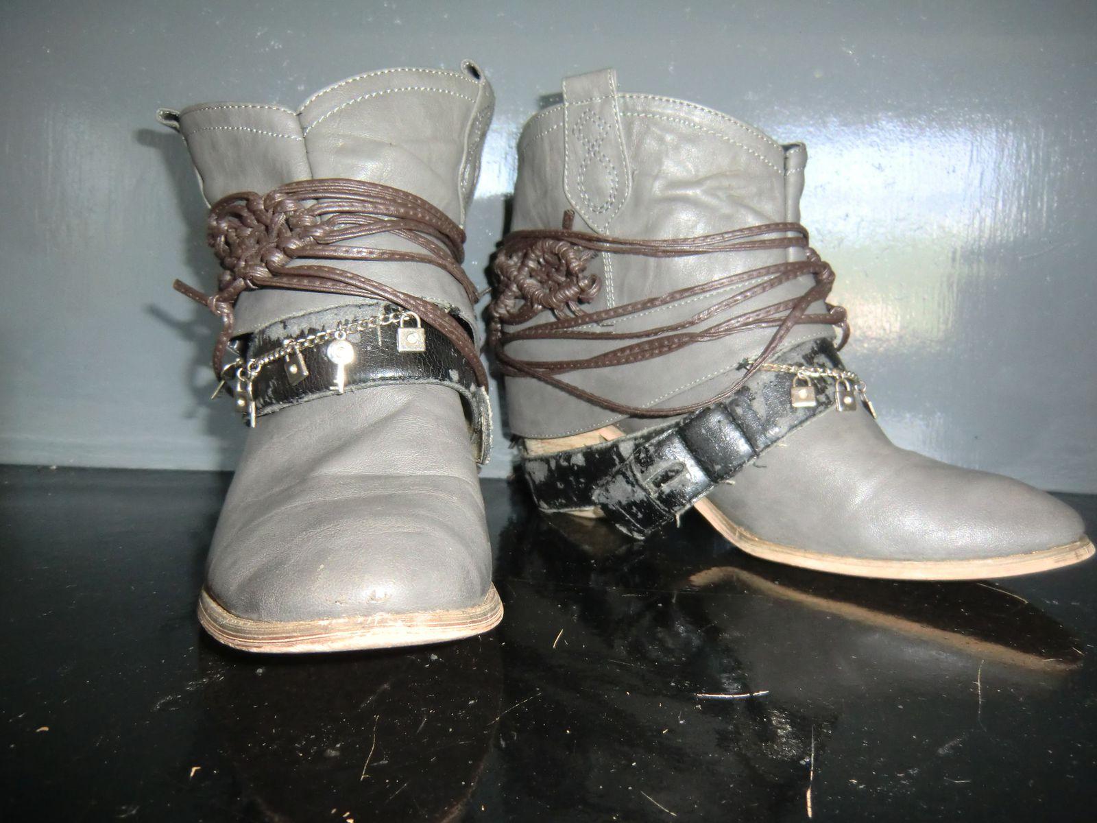 DIY boots façon Steve Madden
