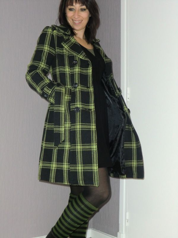 Le trench tartan