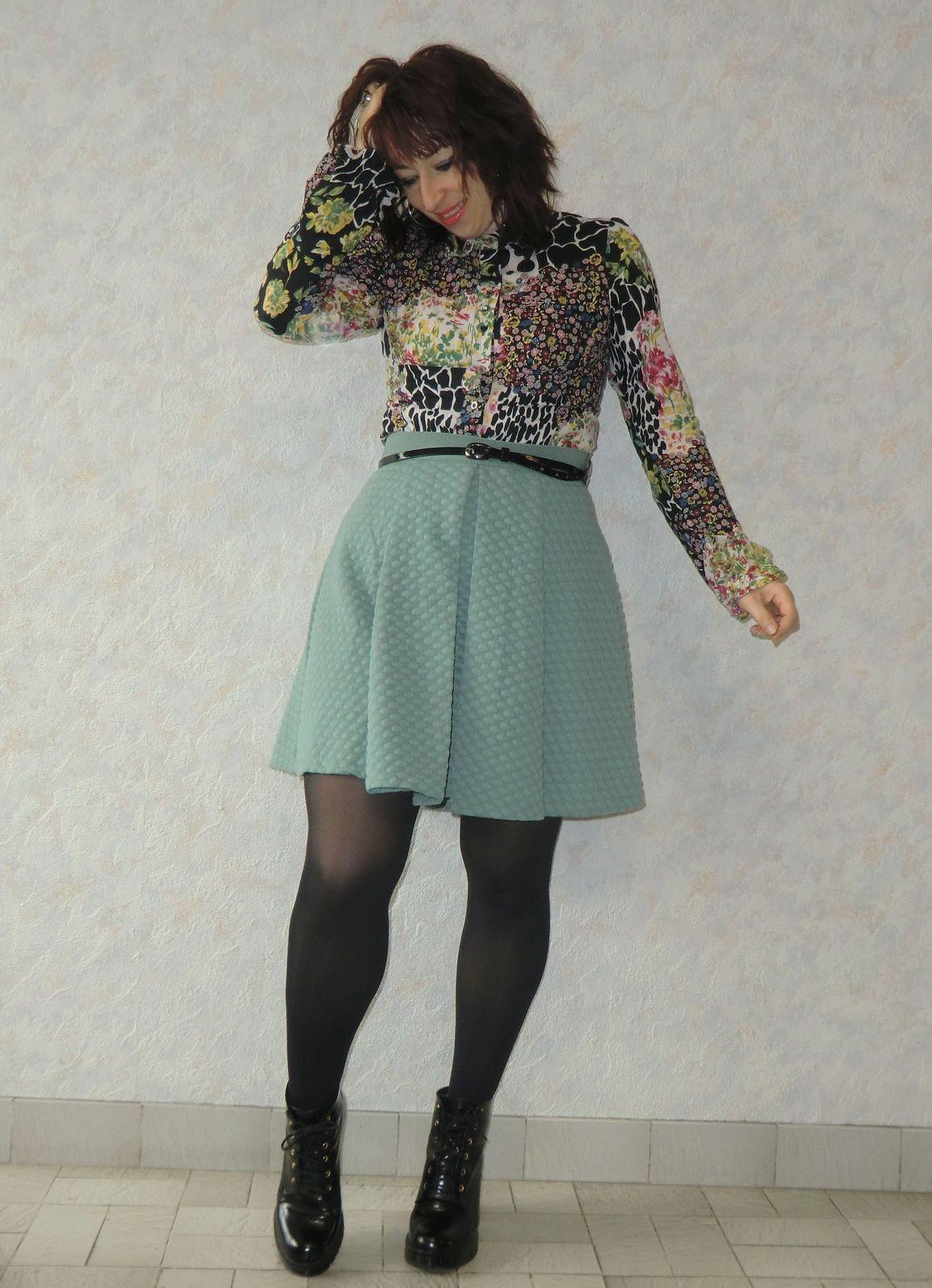 Minty skirt